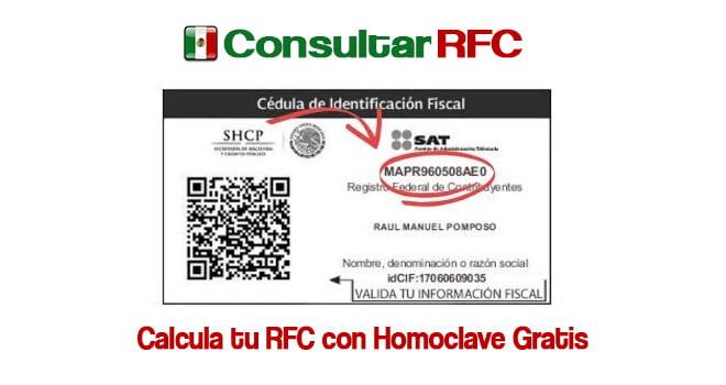 rfc con homoclave sat